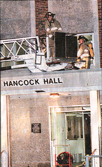 fire department hancock hall