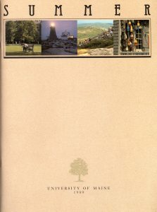 1989 Summer University poster