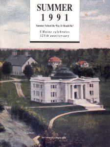 1991 Summer University poster