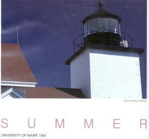 1993 Summer University poster
