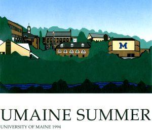 1994 Summer University poster