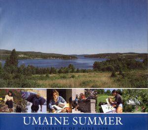 1996 Summer University poster