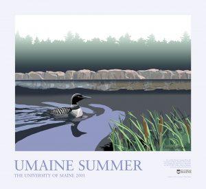 2001 Summer University poster