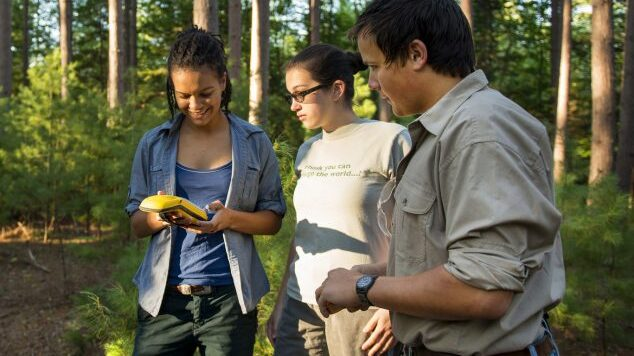 forestry students