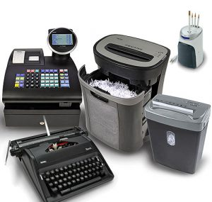 different types of office equipment