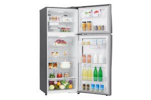 energy efficient fridge with top mounted freezer