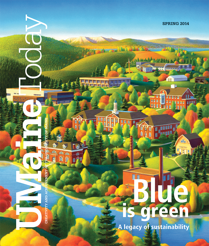 UMaine Today Spring 2014 Cover