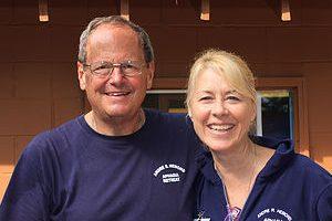 Bruce and Annemarie Albiston