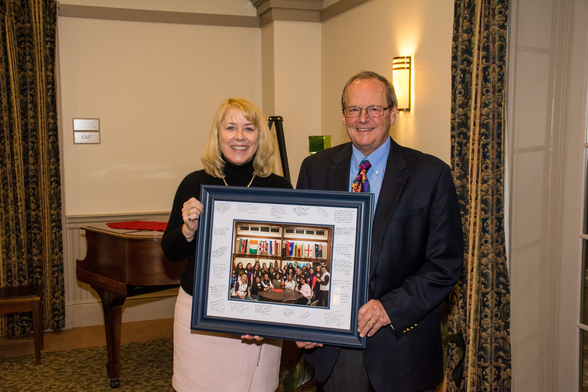 featured image for Albiston Family Honored at Donor Appreciation Reception