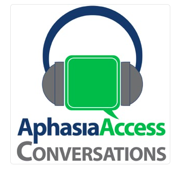 featured image for Dr. Walker interviewed by Ellen Berstein-Ellis during live Aphasia Access podcast