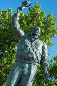 Harold Alfond statue