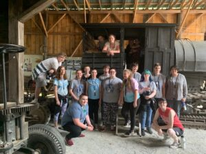 Field Trip to Maine Forest and Logging Museum in Bradley, Maine
