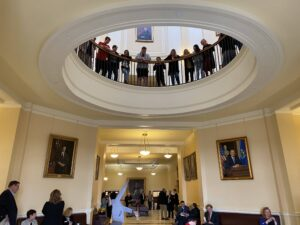 TRIO Students represent at the Maine State Capital