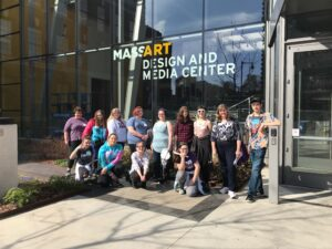 A college visit to MassArt in Boston