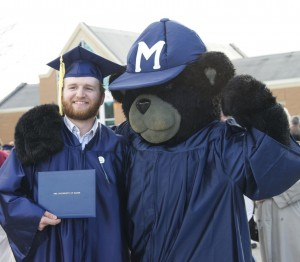 Bananas the Bear and a graduate