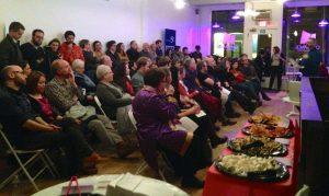 Downtown Bangor Public Humanities Day kick off pecha kucha, January 20, 2015.