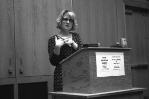 Jennifer Moxley Poetry Reading