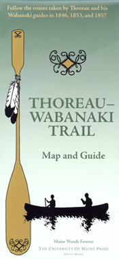 Thoreau-Wabanaki Trail Map and Guide cover image