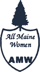 All Maine Women Logo