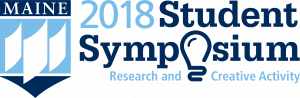 logo for the 2018 UMaine Student Symposium