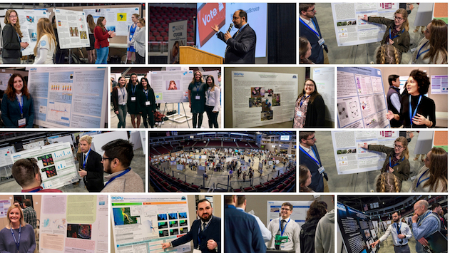 collage of umss presentations