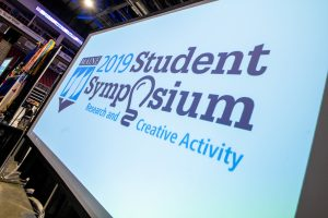 2019 Student Symposium sign