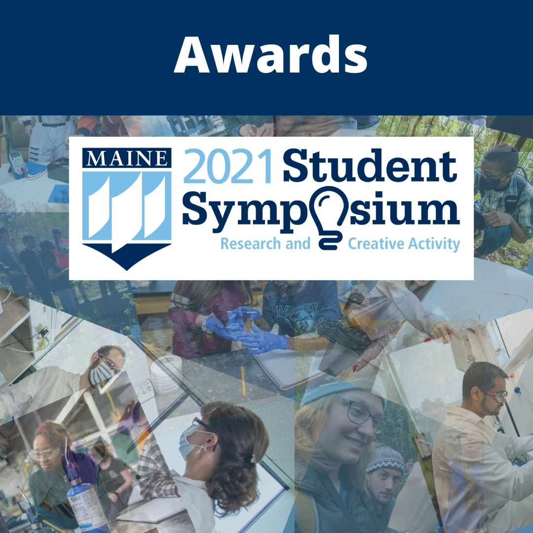 featured image for 2021 UMaine Student Symposium announces award winners