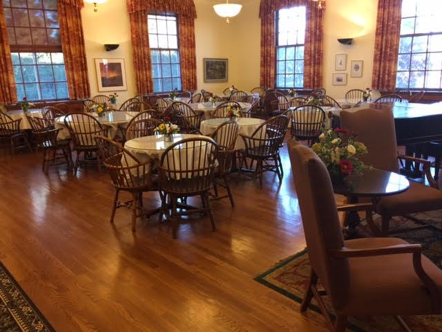 University Club dining