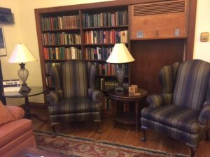 University Club lounge