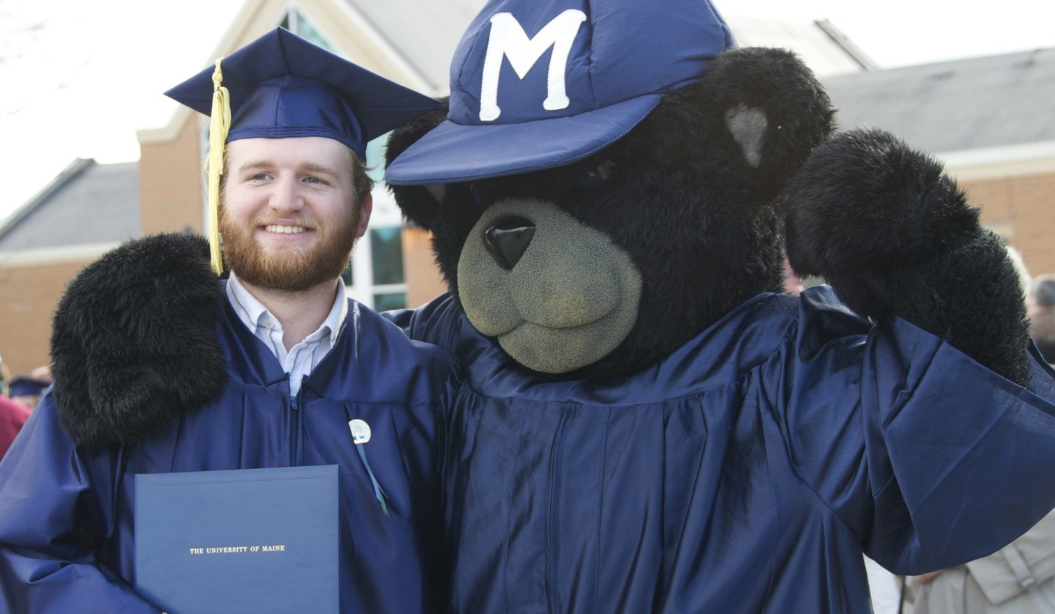 Bananas the Bear and graduate
