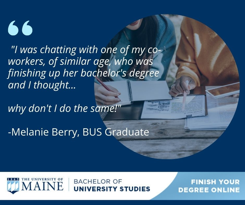 What motivated you to return to complete your degree_