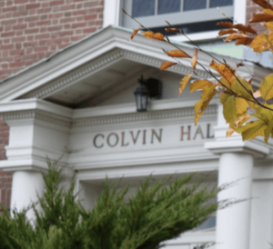 Photo of Colvin Hall Door