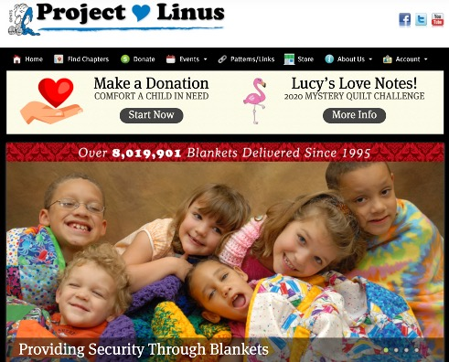 Project Linus website. Project Linus . org