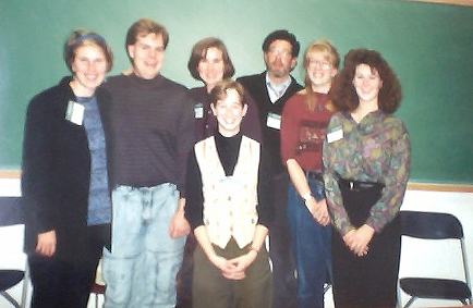 Photo of older former tutors