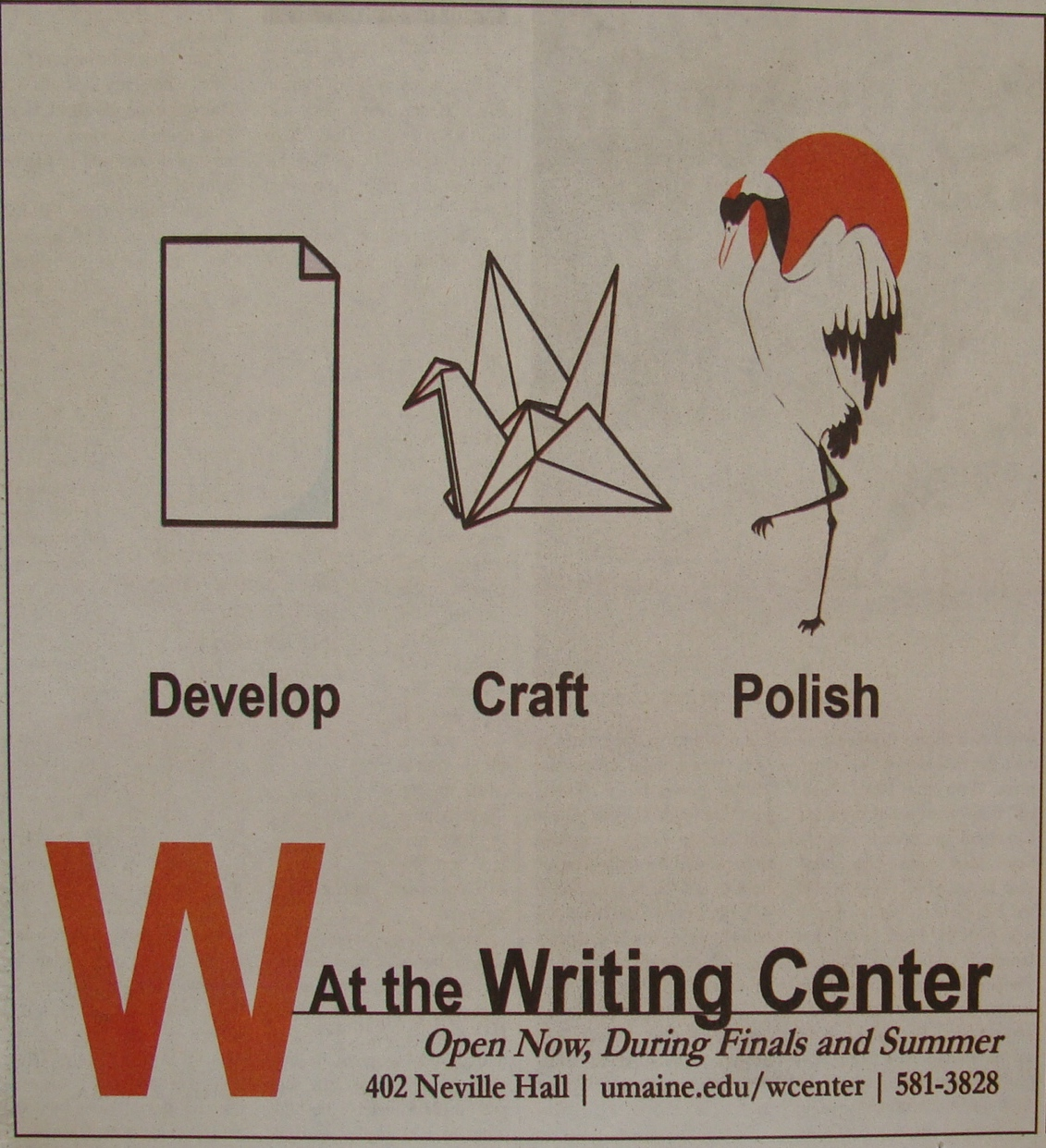 Writing Center Flyer