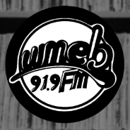 UMaine's WMEB radio station logo