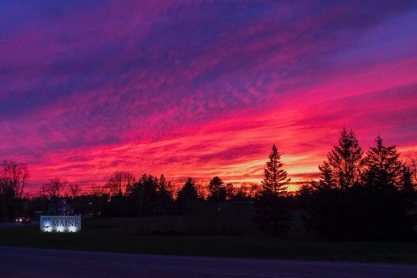 UMaine Sunset