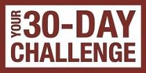 30 day challenge banner