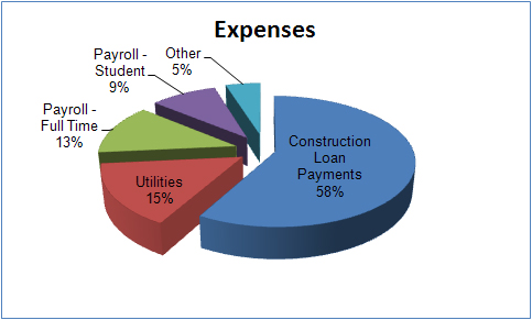 Pie Chart Expenses