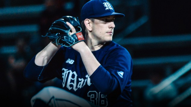 UMaine baseball pitcher