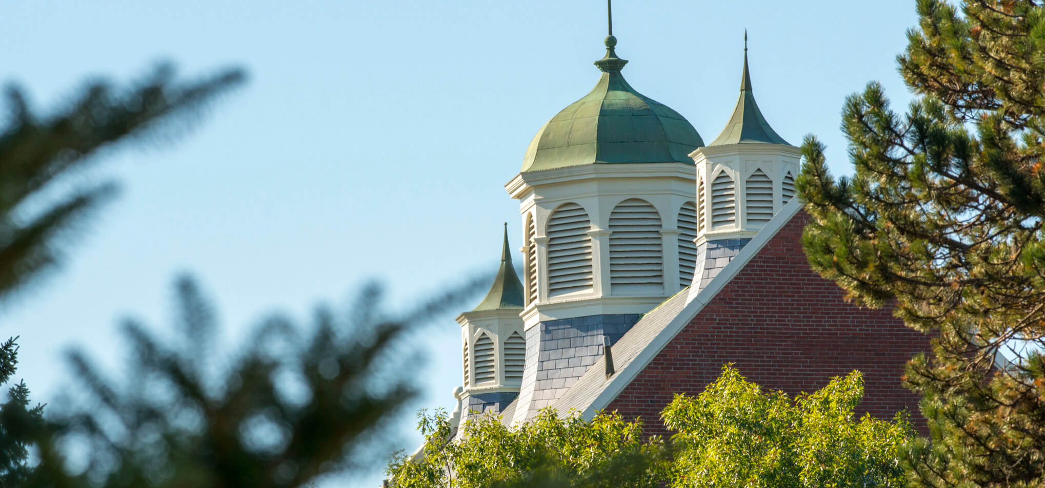 Winslow Hall roofline