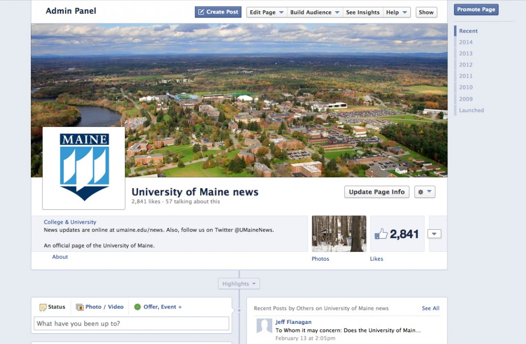 social network porter maine networking site