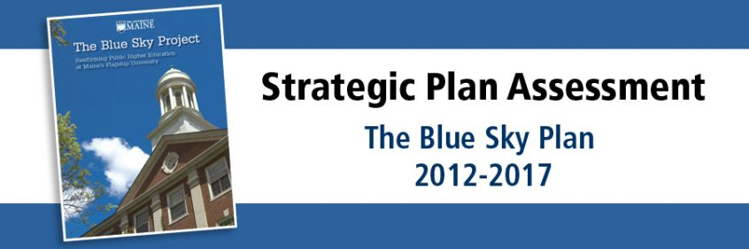 Strategic Plan Assessment | The Blue Sky Plan | 2012-2017