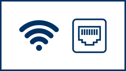 Wifi and Ethernet logos