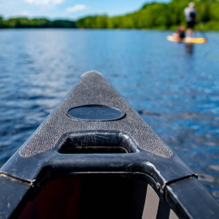 Canoe on the Stillwater River